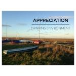 North Norfolk Saltmarsh, representing the Thinking Environment component of Appreciation