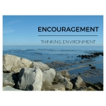 Whitby Harbour rocks, representing the Thinking Environment principle of Encouragement