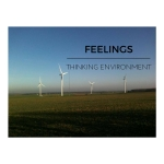 Wind Turbines at Marr, representing the Thinking Environment component of Feelings