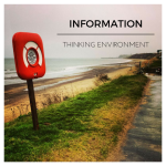 A lifebelt at Sandsend, representing the Thinking Environment component of Information